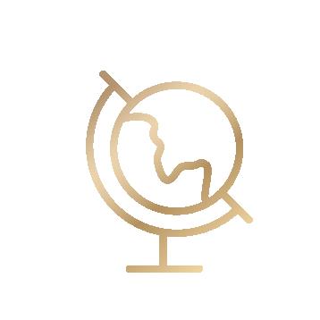 En internationell profil ikon